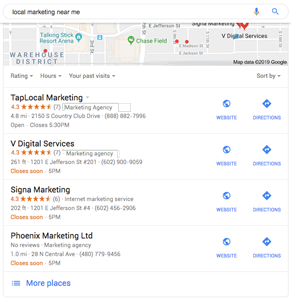 Business Listings Search