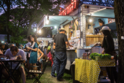 food truck accepting mobile payments